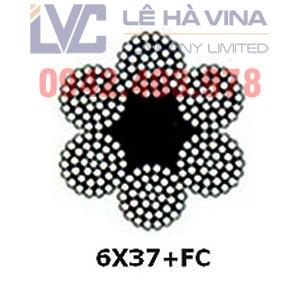 cáp thép 6x37 mạ kẽm, cáp thép, cáp thép 6x37, cáp mạ kẽm, cáp, Cáp thép 6x37 có tính ứng dụng cao, Công ty TNHH Lê Hà Vina, Lê Hà Vina, 6×37+FC và 6×37+IWRC