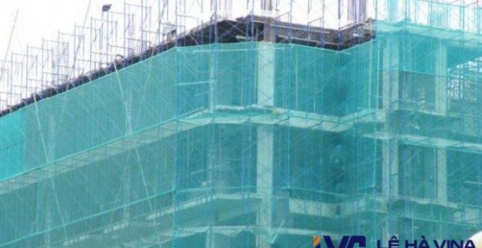 Lưới che bụi công trình, Công ty Lê Hà Vina, Lưới chống bụi, Lưới che bụi, Lưới