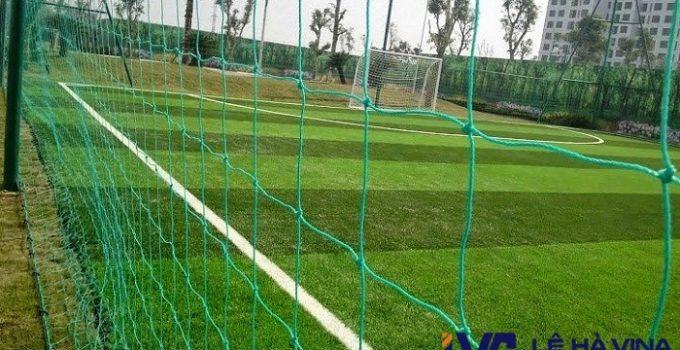 Lưới chắn sân bóng, Lưới sân bóng đá, Lê Hà Vina, Cách lắp đặt lưới, Lưới quây sân bóng