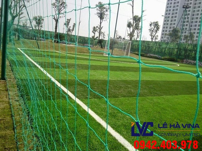 Giá lưới chắn sân bóng, Lưới rào sân bóng đá, Lê Hà Vina, Lưới Đài Loan, Lưới Thái Lan, Lưới sân bóng đá