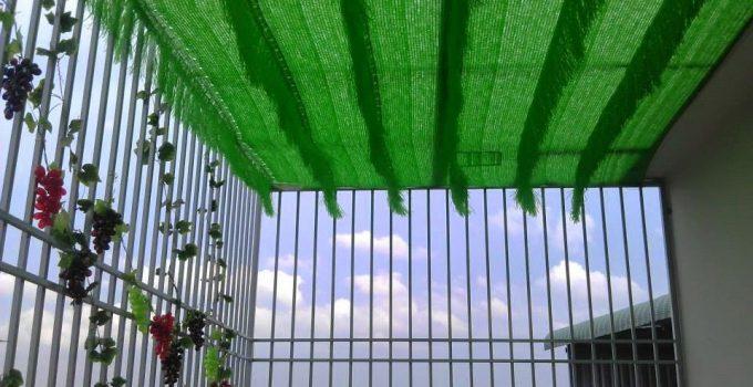 Lưới che nắng sân thượng, Lê Hà Vina, Lưới nhựa che nắng, Lưới che nắng ban công Thái Lan, Lưới che Đài Loan, Lưới che