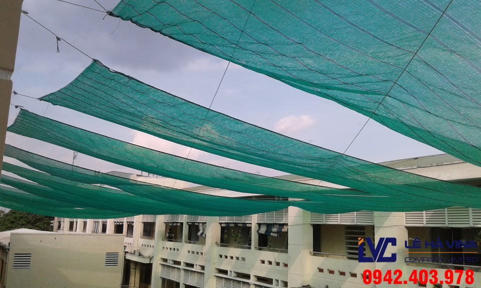 Lưới che nắng, Lê Hà Vina, Lưới, Biện pháp che chắn nắng
