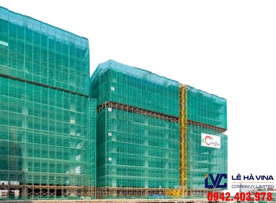 Lưới chống bụi xây dựng, Lưới chống bụi, Lê Hà Vina, Lưới, Lưới chống bụi trong xây dựng