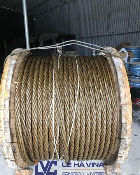 Cung cấp cáp D46, Cáp thép xây dựng, Lê Hà Vina, Cáp thép, cẩu cáp, sản phẩm cáp thép cao cấp, sợi cáp, cung cấp cáp thép