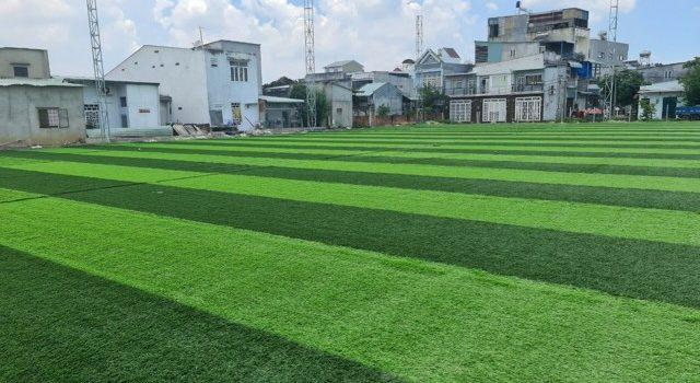 Cỏ nhân tạo, Sân bóng nhân tạo, Sân bóng mini nhân tạo, thi công sân bóng nhân tạo, Công ty TNHH Lê Hà Vina, cỏ nhân tạo Hàn Quốc