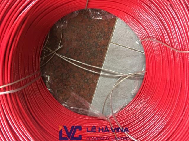 Cáp bọc nhựa, Cáp bọc nhựa 150m, Công ty TNHH Lê Hà Vina, Lưới sân bóng, Mua cáp nhựa