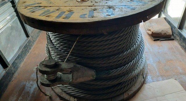 cáp đen D32 xoắn trái, cáp đen D32, cáp đen, cáp thép, Lê Hà Vina, cáp đen 6*36 IWRC, Công ty TNHH Lê Hà Vina