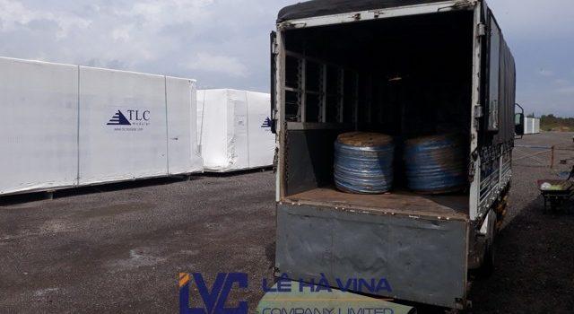 Cáp bọc nhựa 150m, Công ty TNHH Lê Hà Vina, Mua cáp nhựa, Lưới sân bóng đá, Cáp bọc nhựa