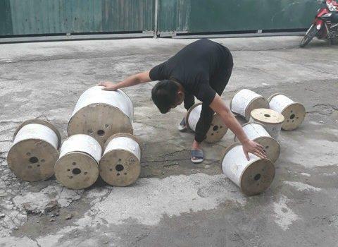 Cáp inox, Giao 1500mm cáp inox cho đầm tôm, Công ty TNHH Lê Hà Vina, Cáp inox Hàn Quốc, Sản phẩm cáp, Lưới che nắng